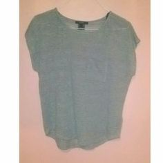 I just discovered this while shopping on Poshmark: NEW HiLo Mesh Gray Top. Check it out!  Size: S