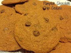 Pumpkin Chocolate Chip Cookies - The best of both in one cookie!