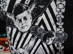 RARE President Kennedy JFK Assassination T-shirt Jackie Marilyn Monroe LHO Med #Hanes #GraphicTee