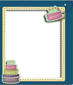 Edita una postal de cumpleaños añadiendo una fotografía digital a este marco de fondo azul y motivos con tartas de aniversario. Podrás imprimir tus tarjetas o mandarlas por vía correo electrónico, de una forma sencilla y gratis. www.fotoefectos.com