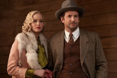 "From the movie ""Serena"":   Bradley Cooper and Jennifer Lawrence look smashing!"