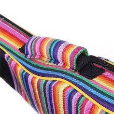 It always makes us happy seeing the bright and happy design on this bag. Check it out and cheer your ukulele up today with this awesome Rainbow Striped Gig Bag - available in Sporano, Concert & Tenor sizes from Lovemyukulelestore.com Ukulele Store, Happy Design, Stripes Design, Cover Design, Really Cool Stuff, New Baby Products, Cheer, Rainbow, Bright