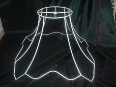 Lamp shade wire frame for table floor pendant lamp chinese pagoda victorian wire lamp shade frame greentooth Gallery