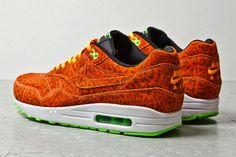 Nike Air Max 1 FB «Orange Leopard»