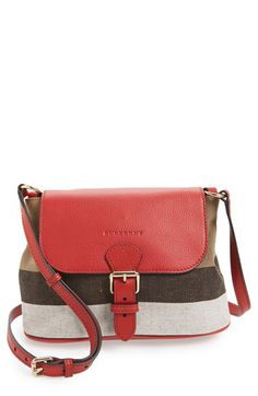 754f9c56a463 Burberry Burberry  Small Gowan  Crossbody Bag available at  Nordstrom  Burberry Crossbody Bag