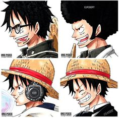 One Piece, Monkey D. Luffy.