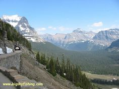 highway to the sky glacier national park | there are two tunnels along the going to the sun