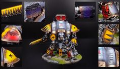 Space Wolves Knight Gallant
