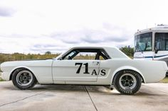 1965 Ford Mustang Race Car for sale on BaT Auctions - ending November 7 (Lot Ford Mustang Coupe, Mustang Cobra, Sports Car Racing, Race Cars, Mustang Restoration, American Racing Wheels, Fire Suppression System, Racing Seats, Shelby Gt