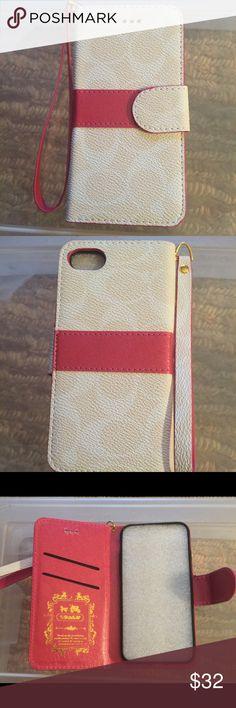 Coach IPhone 7 Phone Case! Coach Iphone 7 Phone Case! Accessories Phone Cases