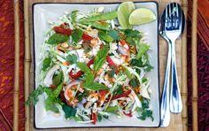 Vietnamese Lemongrass Chicken Salad | Recipe