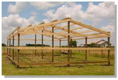 How to Build Pole Barn Post Beam Structure Secrets Shortcuts Photos Carport Sheds Stalls Pole Barn Kits, Pole Barn Designs, Pole Barn Garage, Building A Pole Barn, Pole Barn Homes, Garage Gym, Building A Shed, Pole Barn Plans, Building Design