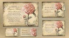 Bildergebnis für wedding invitation vintage