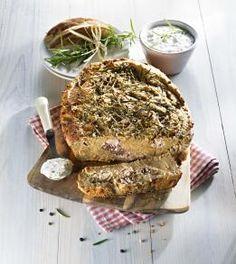 Przepis na Pieczeń z chleba prądnickiego #ChOG z karpiem zatorskim #ChNP i sosem tatarskim