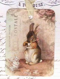 rabbits and tea