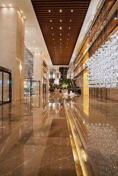 Grand Hyatt, Shenyang, China Arrival Lobby
