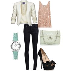 Glitz and Glam, created by saratoeppler on Polyvore