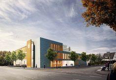 """brüchner-hüttemann pasch bhp Architekten + Generalplaner GmbH Verwaltungsneubau """"Diakonische Stiftung Ummeln"""" #bhparchitekten #architecture #bielefeld #wettbewerb #competion"""