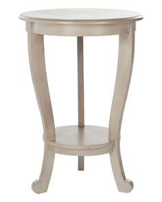 Spotted this Mary Pedestal Side Table on Rue La La. Shop (quickly!).