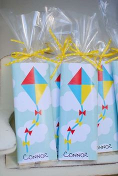 Kite Themed Party Birthday Party Ideas #aviationparty