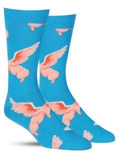 Women Men Tropical Animals Pattern Cushion Ankle Socks