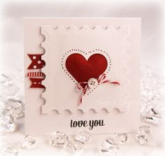 Fuzzy Heart F4A153 by stamps4funinCA - Cards and Paper Crafts at Splitcoaststampers