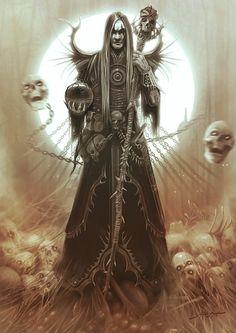 Necromancer Art | Used with permission from yigitkoroglu @ http://yigitkoroglu ...