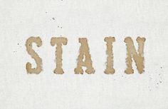 Создаём текст из кофейных пятен в Фотошоп