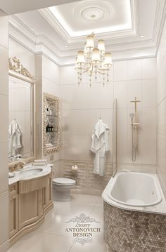 Small Bathroom Interior, Classic Bathroom, Washroom Design, Bathroom Design Luxury, Classic House Design, Bedroom False Ceiling Design, Mansion Interior, Luxury Dining Room, Stylish Home Decor