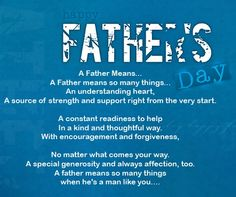 Fathers Day Poems Quotes, Happy Fathers Day Quotes Poems