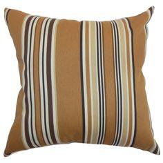 Fergus Stripes Throw Pillow