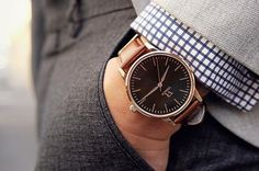 Be so good they can't ignore you. Iconic Rose Gold/Black. #vodrich (:@whatmyboyfriendwore)