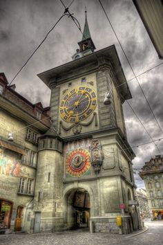 """allthingseurope: """" The Zytglogge Tower in Bern Switzerland source """""""