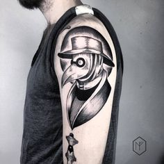 Plague Doctor Tattoo by henjafin.