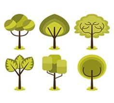 FREE Abstract Trees Clip Art SetCommercial Use Allowed!Each clipart illustration is included separately as a high resolution PNG file with a transparent background and also as a JPG with a white backgroundEach object is provided at a sizes of 5.5 Inches on its longest side.