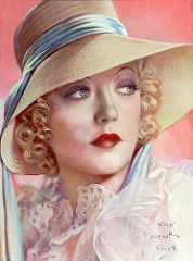 Henry Clive  Portrait of Marion Davies, a American actress in the 1920's and 30's. Probably best known as the long-time mistress of William Randolph Hearst.