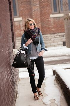 Winter casual outfit. | Winter Style