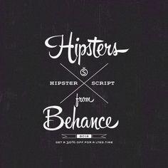 Hipster Script by Ale Paul, via Behance
