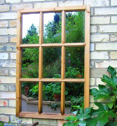 How to use mirrors in the garden
