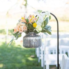 Rose Wedding, Garden Wedding, Floral Wedding, Wedding Flowers, Shepherds Hook, Cabbage Roses, Mercury, Real Weddings, Florals