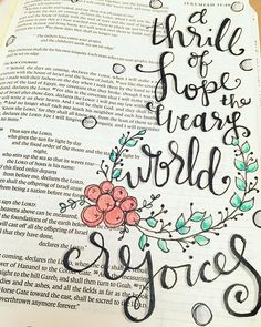 I love that I am still hearing Christmas carols - I wish this time of year would never end! Anyone else not ready for the long winter? Christmas Bible Study, Christmas Quotes, Bible Study Journal, Art Journaling, Journal Art, Bible Art, Bible Verses, Scriptures, Sunday Quotes