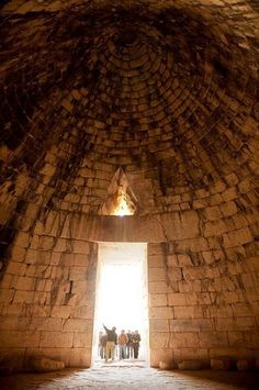 The Tomb of Agamemnon, Mycenae, Greece