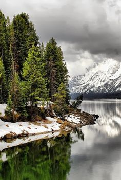 Jackson Lake Jackson Hole, Wyoming