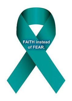 Ovarian Cancer Awareness    #Faith #Strong #Courage
