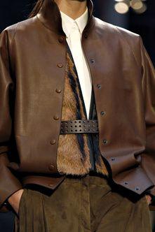 ... gorgeous Hermes leather jacket ...