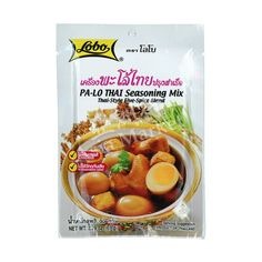 Buy Lobo Pa-Lo Thai Seasoning Mix online from Asia Market. Pa-Lo is a five-spice blended cooking mix inspired from Chinese. Five Spice Chicken, Chicken Spices, Seasoning Mixes, Thai Style, Spice Blends, Oatmeal, Asian, Cooking, Wolves