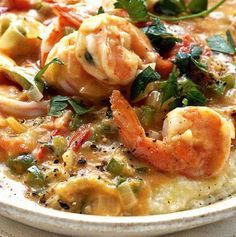 Recipe for Tennessee Shrimp and Grits - This glorious dish is now becoming fashionable in restaurants all over the country!
