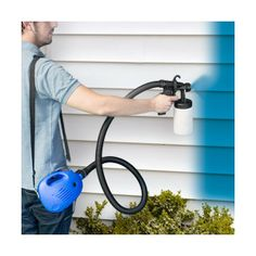 Pistola de Pintura Eco Paint con correa, ideal para recovecos y huecos difíciles de pintar, no gotea, no mancha, para interior y exterior.