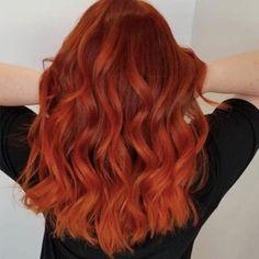 Red Hot Hair: 44 Shades Of Red Hair For Everyone's Inner Vixen Orange Things orange red hair Auburn Red Hair, Red Orange Hair, Bright Red Hair, Blood Orange, Gold Hair Colors, Red Hair Color, Red Color, U Cut Hairstyle, Blood Red Hair