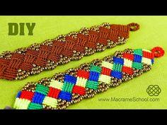 Perles   Bracelets Brésiliens   Tutoriel pas à pas pour fabriquer des bracelets brésiliens, bracelets de l'amitié